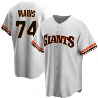 Youth Replica San Francisco Giants Peter Maris Home Cooperstown Collection Jersey - White